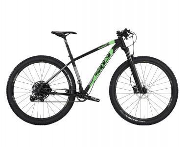 Xe đạp MTB Wilier 503X PRO - L10 (black/ green flou matt)